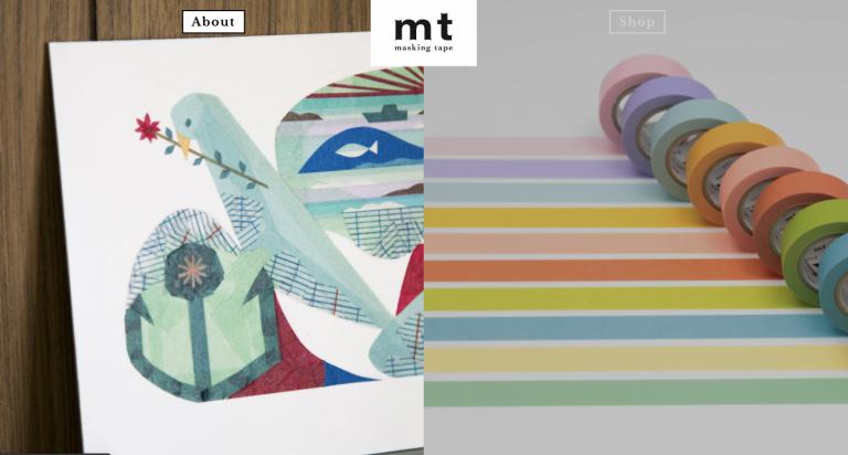 【Shopify事例紹介】マスキングテープ「mt」