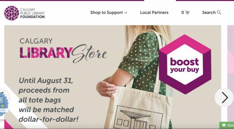 【Shopify事例紹介】Calgary Public Library Foundation