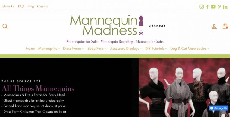 【Shopify事例紹介】Mannequin Madness