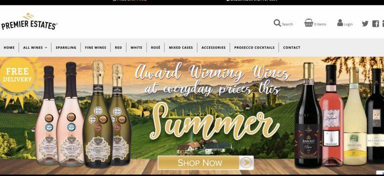 【Shopify事例紹介】Premier Estates Wine