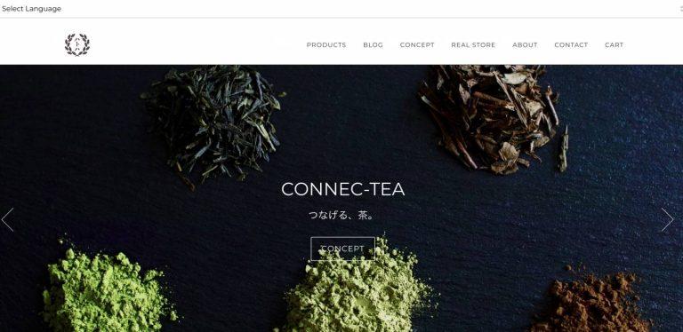 【Shopify事例紹介】日本茶屋ハトハ